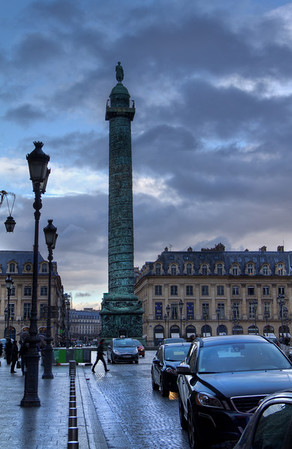 If only I knew what this is...now I know, it's Place Vendôme:)