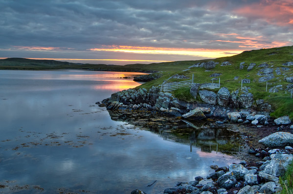 Loch Near Callanish