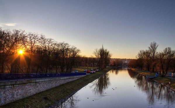 Sunset in Stromovka