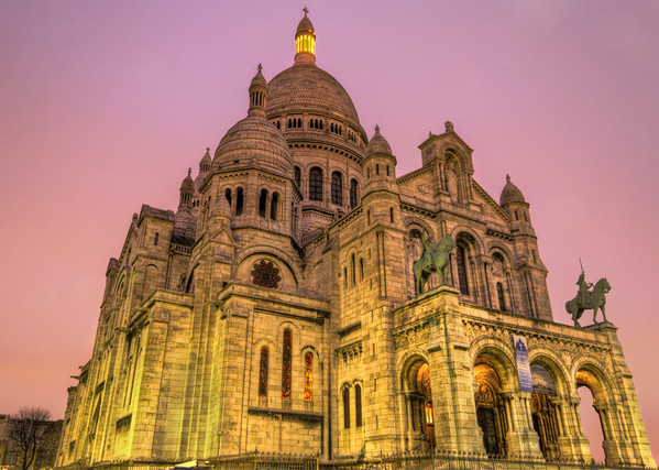 Sacre Coeur in the Morning