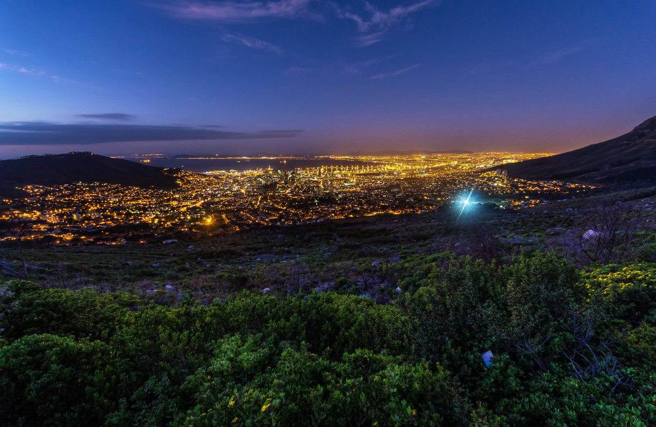 Cape Town after Sunset