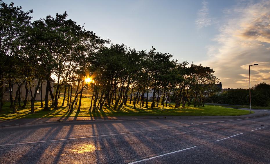 Stornoway Sunset