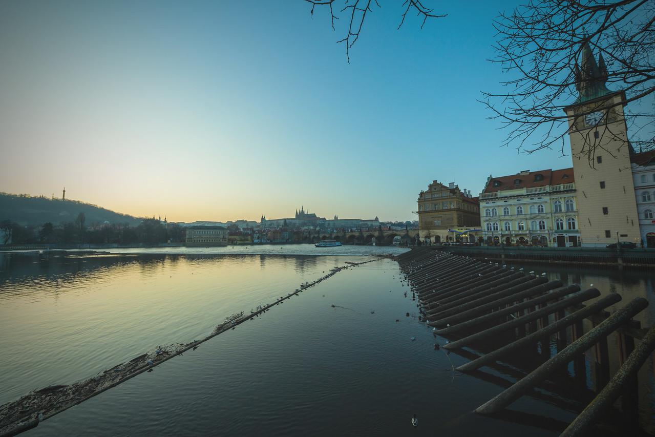 Misty Vltava