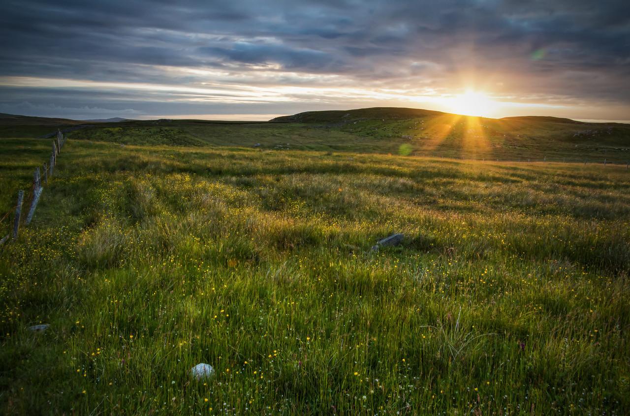 The Scottish Sunset