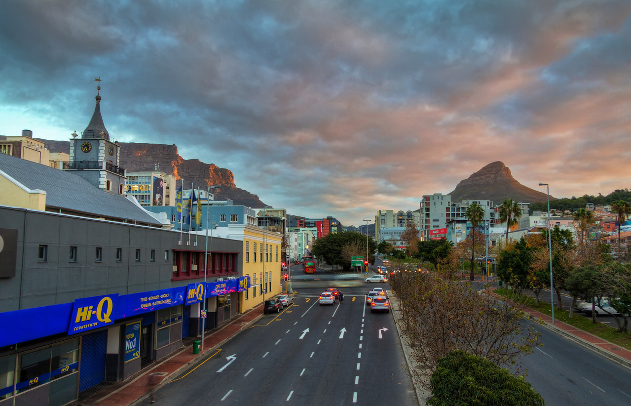 The Street in Cape Town