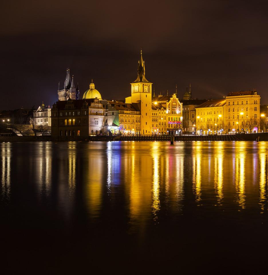Vltava at Night