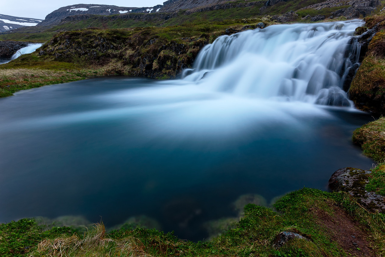 Waterfall by Dynjandi