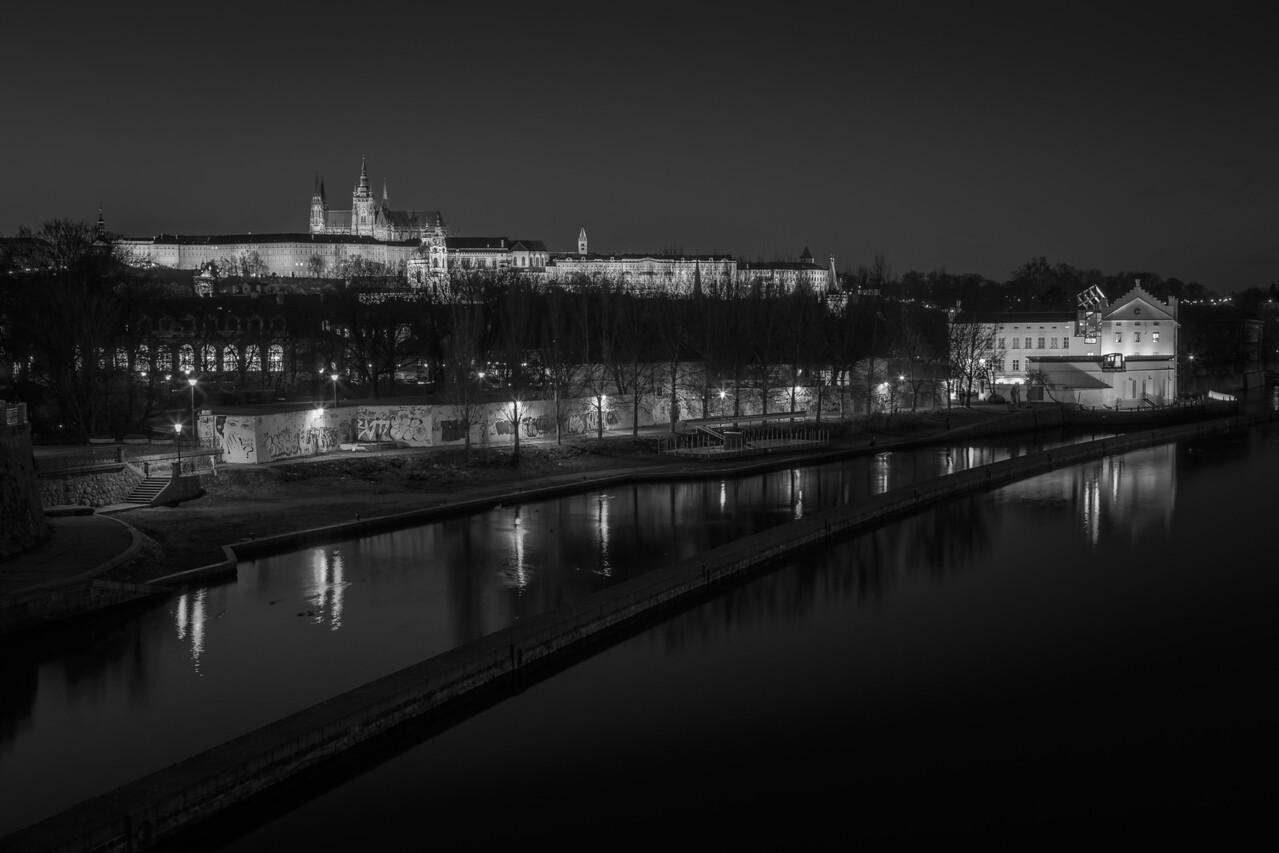 Prague Castle after Sunset