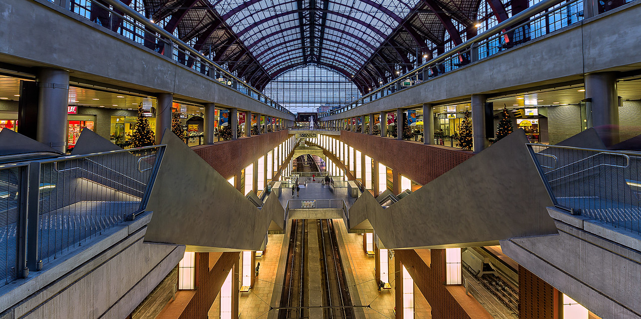 Central Station in Antwerp