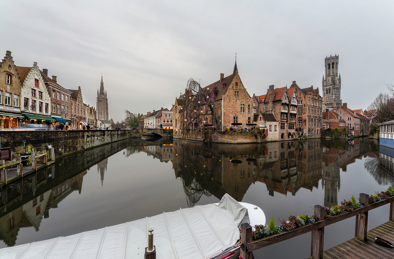 Bruges Towers