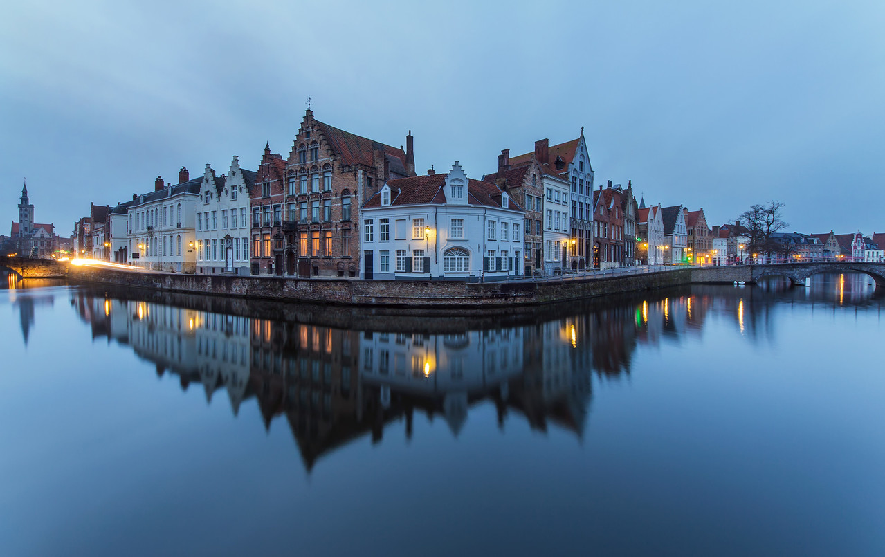 Early Evening in Bruges