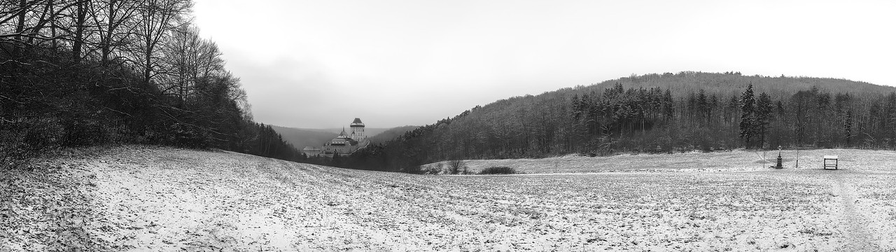 Karlstejn in Winter